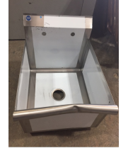 "Universal BS2118-1 18"" One Compartment Commercial Sink - Scratch & Dent"