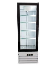 "Universal GDC10 21"" Swing Glass Door Merchandiser Reach In Refrigerator"