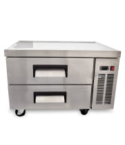 "Universal UCB36 36"" 2 Drawer Refrigerated Chef Base"