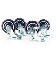 Universal USC-5 - Refrigeration Casters (4 pcs Installed) 5""