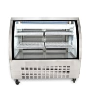 "Universal URCD48 48"" Refrigerated Deli Case Counter Height"