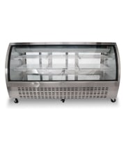 "Universal URCD79 79"" Refrigerated Deli Case Counter Height"