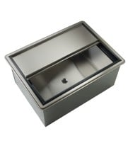 "Krowne D2712-7 - 27"" Drop-In Ice Bin with Cold Plate"