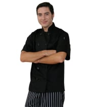 Dickies Chef DC124 - Chef Coat - Short Sleeve - Donatello Classic