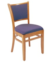 G & A Seating 4613FP - Wood Ladderback Chair (12 per Case)