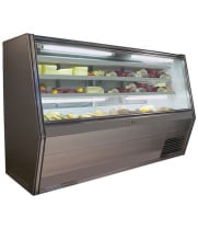 "Universal Coolers DLC72 - 72"" Double Duty Refrigerated Deli Display Case"