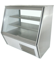 "Universal HDC84SC - 84"" Double Duty Deli Case"