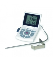 CDN DTTC-W - Combo Probe Thermometer, Time & Clock