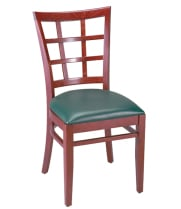 G & A Seating 4650 - Checker Back Chair (12 per Case)
