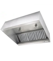 Universal LMUA-144-36D-24H - Low Profile Exhaust Hood w/ Make Up Air 144""
