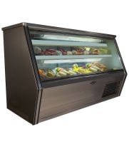 "Universal Coolers FC72 - 72"" Single Duty Refrigerated Deli Display Case"