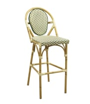 G & A Seating 908G - Aluminum Bamboo Bar Stool (12 per Case)