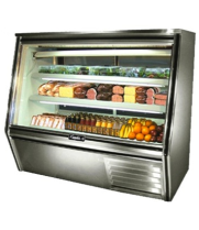 "Leader HDL60 - 60"" Double Duty Refrigerated Deli Display Case"