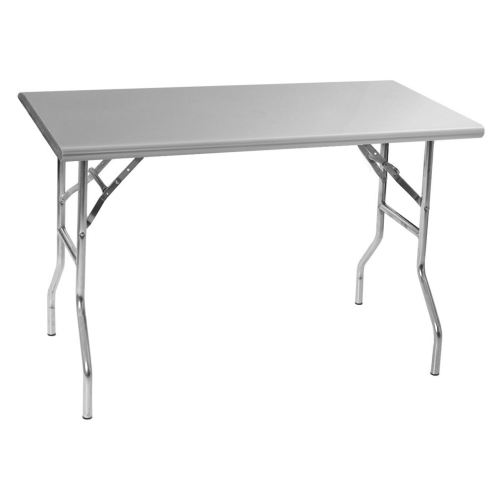 Folding Stainless Steel Work Table X - 30 x 60 stainless steel work table