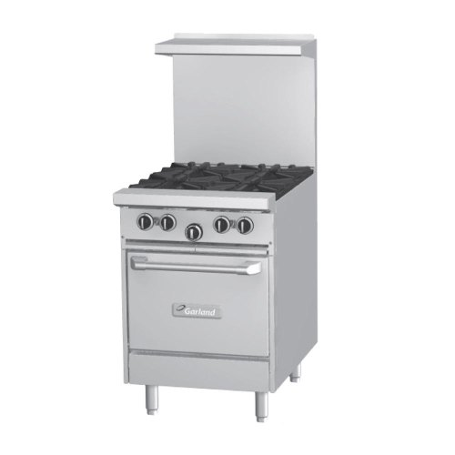 Garland G24-24S - Gas Range - (1) Storage Base - (1) 24