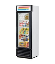 "True GDM-19T - 27"" Glass Door Reach In Refrigerator"