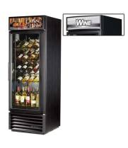 "True GDM-23W - 27"" Glass Door Reach In Wine Refrigerator"