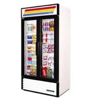 "True GDM-35 - 39.5"" Glass Door Reach In Refrigerator"