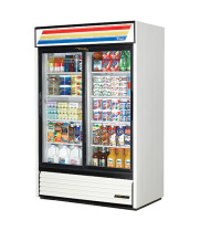 "True GDM-45 - 51"" Glass Door Reach In Refrigerator"