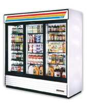 "True GDM-72F - 78"" Glass Door Reach In Freezer"