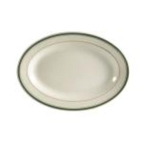 C.A.C. China GS-34 - Greenbrier Platter - (2 Dozen per Case)