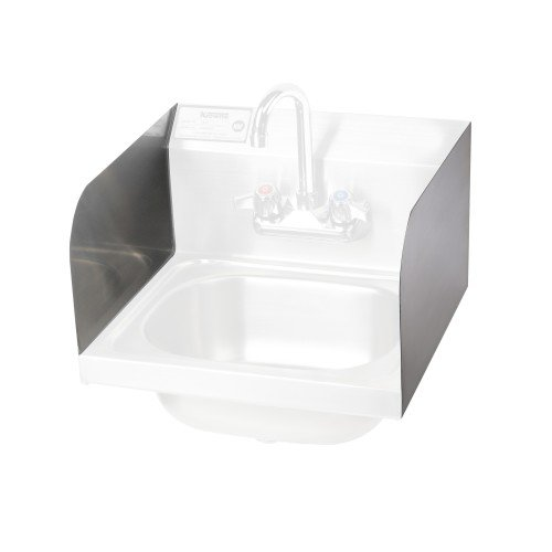 Krowne H-112 - Field Mountable Side Splash for Hand Sinks - Case of 2