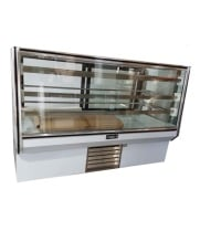 "Leader HBK57 - 57"" Refrigerated Bakery Display Case - High Volume"