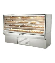 "Leader HBK77-D - 77"" Dry Bakery Display Case - High Volume"