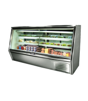 "Leader HDL96 - 96"" Double Duty Refrigerated Deli Display Case"