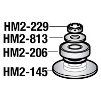 Hobart - HM2-813 - Plain Washer (Pkg./10) Parts for Hobart Mixers - A120/A200