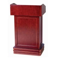 Universal 116POD1CHERY - Hostess Podium w/ Cherry Finish