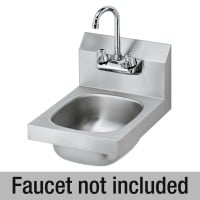 Krowne HS-9-LF - Wall Hung Hand Sink W/O Faucet - 12