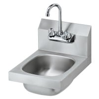 Krowne HS-9L - Wall Hung Hand Sink W/ Faucet - 12