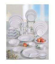 "Thunder Group 1102TW - Twin Sauce Dish - Imperial Collection 2-3/4"" (24 per Case)"