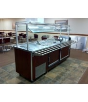Universal Coolers RBT4SC - 3 Well Refrigerated Buffet Table - Cold Food