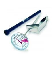 "CDN IRTL220 - ProAccurate Insta-Read Beverage & Frothing Thermometer 7"" Stem"