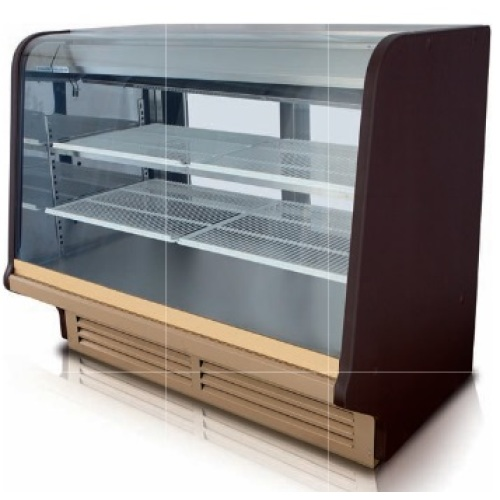 Universal Front Opening Curved Glass Bakery/Deli Case 75