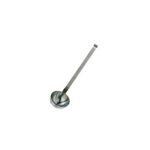 Update International L-15SH - 1.5 Oz - Two-Piece Stainless Steel Short Handle Ladle