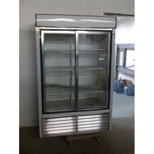 Leader Esls48 48 Sliding Glass Door Reach In Refrigerator Nsf