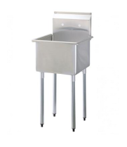 Universal SK2118-1 - One Compartment Utility Sink - 21""