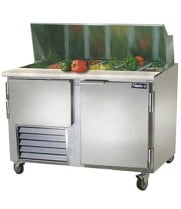 "Leader LM48 - 48"" Refrigerated Sandwich / Salad Prep Table"
