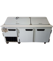 "Leader LM72 - 72"" Refrigerated Sandwich / Salad Prep Table"
