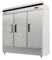 "Atosa MBF8508 - 82"" Reach In Refrigerator - 3 Doors"