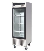 "Atosa MCF8705 - 27"" Glass Door Refrigerator - 1 Door"