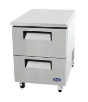 "Atosa MGF8415 - 27"" Undercounter Refrigerator - 2 Drawers"