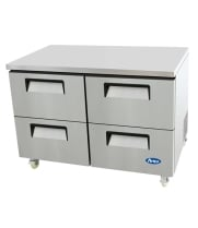 "Atosa MGF8417 - 48"" Undercounter Refrigerator - 4 Drawers"