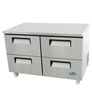 "Atosa MGF8419 - 60"" Undercounter Refrigerator - 4 Drawers"