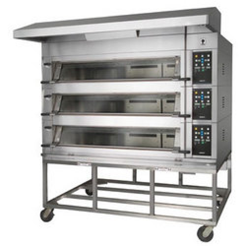 Bakery Aid by Unisource Milano Artisan 3 Deck 3 Pan Oven [UNI-DO3W-3]