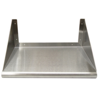 Stainless Steel Microwave Shelf - 18