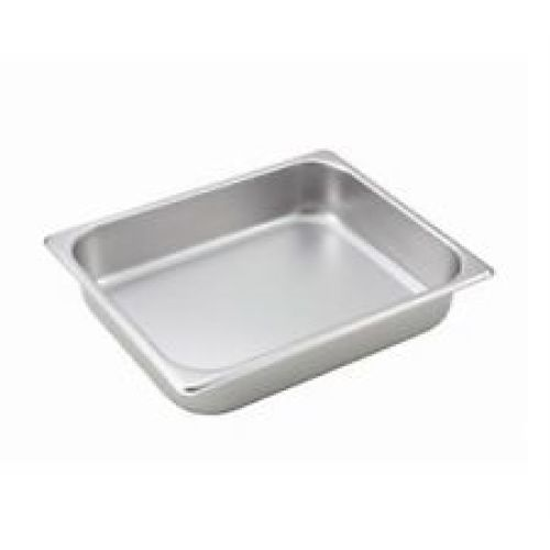 Winco Half Size Steam Table Food Pan [SPH2-HD]